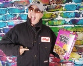 Kellogg's Refrigwear Coat, XL. Perfect for the Grunge Cereal Lover!