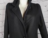 Vintage Komitor Made In USA Wool Coat, Size 10