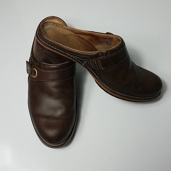 Red Wing Shoes Vintage 90's Brown Leather Woman's… - image 1