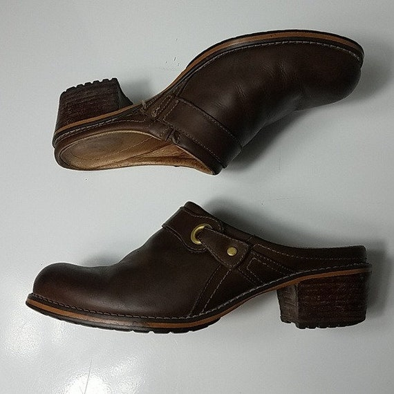 Red Wing Shoes Vintage 90's Brown Leather Woman's… - image 4