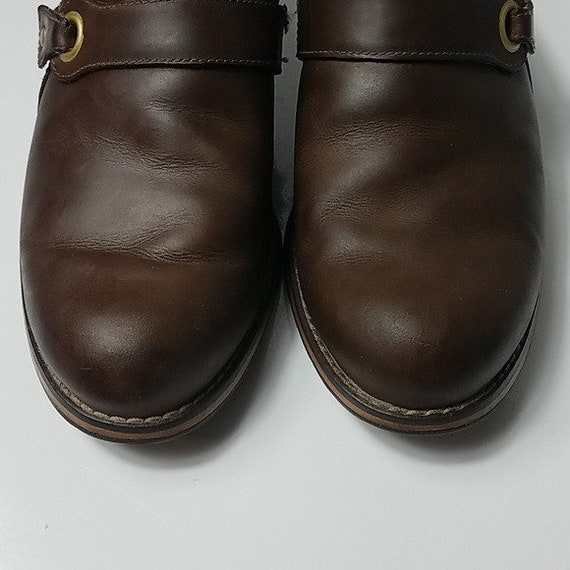 Red Wing Shoes Vintage 90's Brown Leather Woman's… - image 6