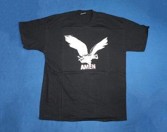 d5648849 2004 NEW Amen band shirt Punk metal American punk band shirt Men's size XL