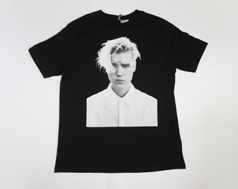 186f56f0d2 2016 Justin Bieber shirt Purpose World Tour shirt canadian pop r & b singer  Men's size L