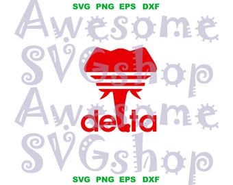 100% authentic e6127 948b4 Adidas Delta Sigma Theta SVG Delta Sigma Theta sorority shirt DST Elephant  diva sign printable shirt gift Download svg eps dxf png cut files