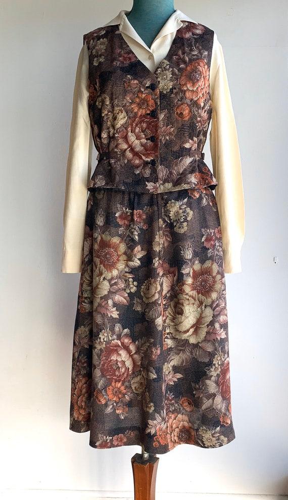 Circa 70s 80s Designer Brand Lucie Linden Boho Hip
