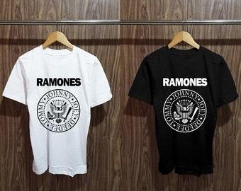 596d5cdf94e Ramones Logo Natural Tshirt - Ramones Shirt - Ramones Tees - Ramones  Hypebeast Street Wear