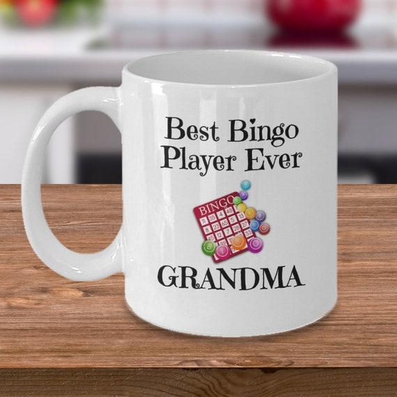 Best Bingo Player Ever Grandma Mug Etsy