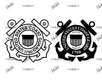 Coast Guard Svg Etsy