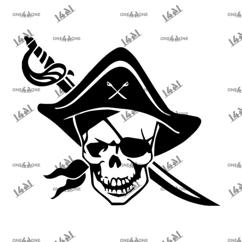 Bundle Pirate Flag Crossbones Jolly Roger Pirates Skull and Bones svg Cut file ai png eps Cricut Silhouette Military 2nd Amendment