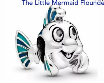 Little Mermaid Inspired Bracelet PLIE poisson Bangle ne pas être une telle Guppy