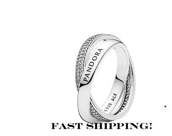 dc4ba9477 Pandora, CZ Promise Ring, fully stamped, 925 sterling
