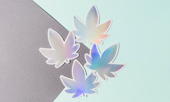 Bloom Where You Are Planted Holographic Waterproof Sticker
