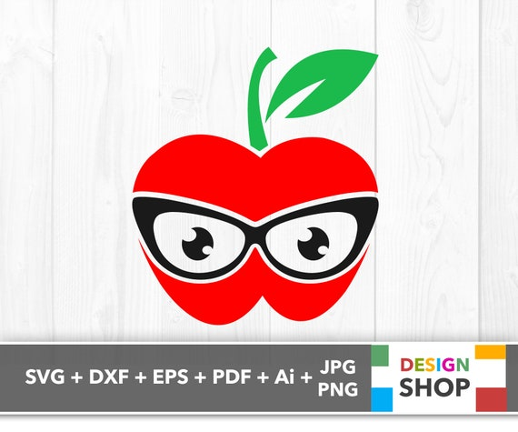 Teacher Apple Svg School Teacher Svg Apple Teacher Svg Etsy
