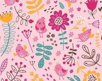 0.5 m jersey, flower magic, pink