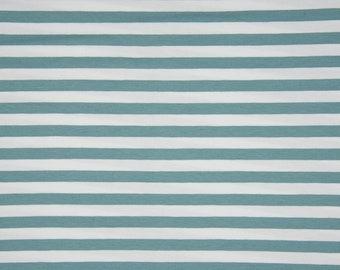 0.5 m jersey, stripe mint green/white