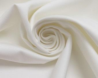 0.5 m cotton fabric, body, white