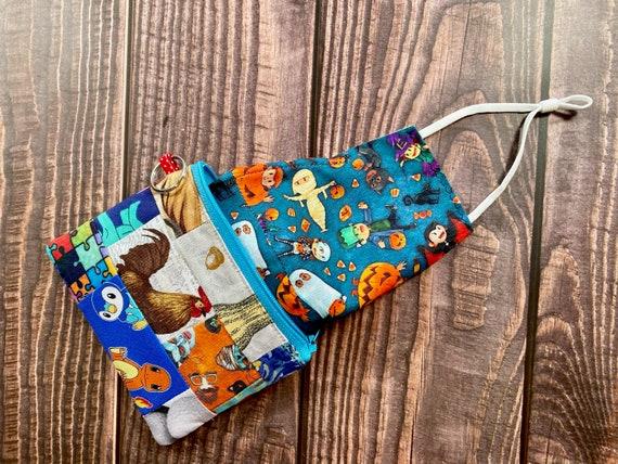 green coin pouch tissue pocket small coin purse face mask holder Butterfly coin purse zipper coin purse hand sanitizer holder