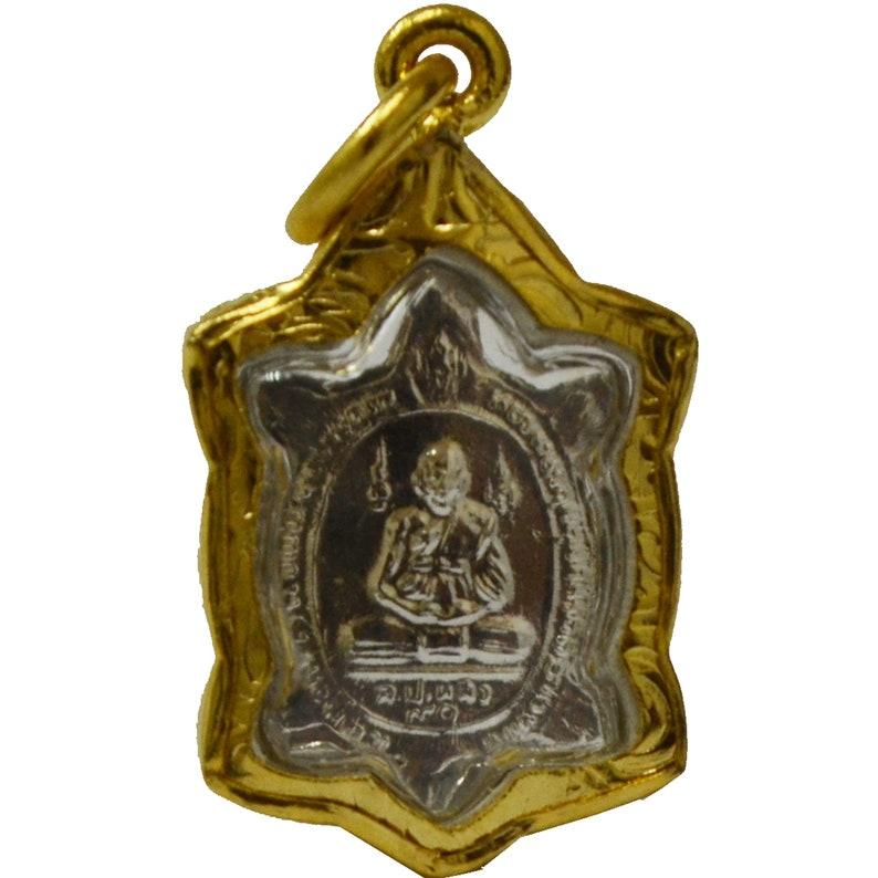 Thai Amulets Powerful Lucky Pendant Magic Turtle Amulet Lp Lew Thai Miracle Miniature Safe Charm Wealth Protect Life
