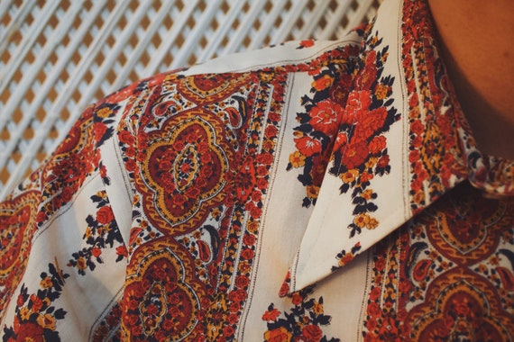 Vintage 1970's 'Beacon and Sons' Floral Pattern B… - image 4