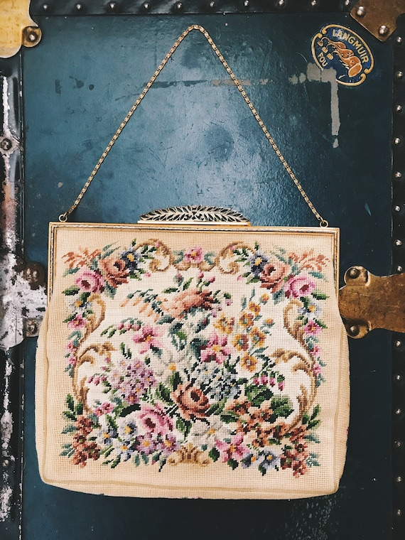 1930s 'Jolles Original' Tapestry Purse