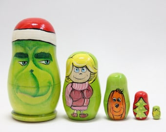 GRINCH PEEPER WOODWORKING PLANS PATTERN CHRISTMAS YARD BOOTS BOHO Ring Kids