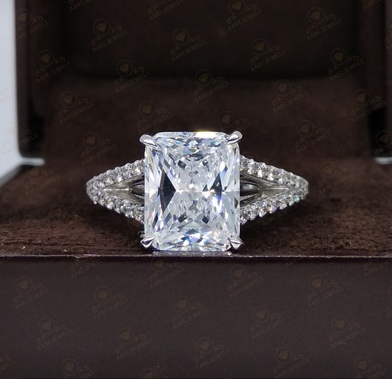 Present for her Promise ring 2.17 CT Solitaire ring with Skulls,Silver solitaire ring CZ solitaire Ring,Elegant Ring,Proposal Ring