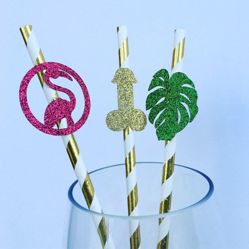 Final Flamingle Bachelorette Party Straws  Penis Straws  Flamingo Straws  Tropical Bachelorette  Beach Bachelorette