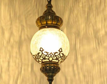 Turkish Hanging Lamp-Pendant Light-Ceiling Lamp-Moroccan Lantern-Ottoman Pendant Lamps-Moroccan Lamp-Turkish Lamp-Turkish Pendant Light