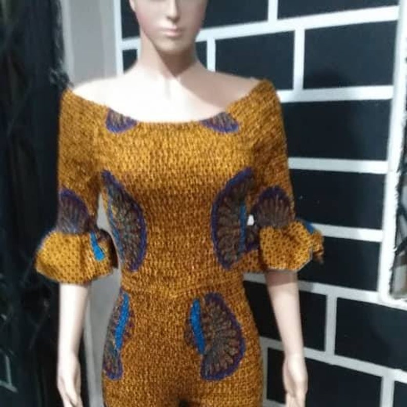 African print women/'s blouse and leggings  African clothing for women original African clothing for women