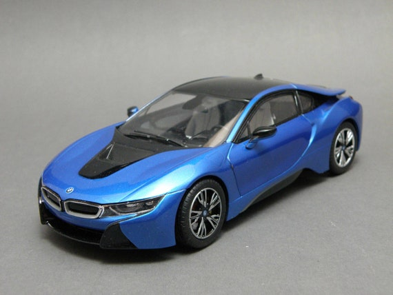 BMW 24 Blue Vintage Model Car