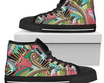 Funky sneakers | Etsy
