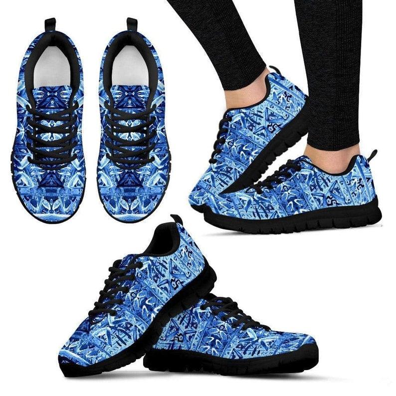 Women/'s Sneakers Steerwear Runners Custom Printed Hippie Blue Sneakers Tennis Shoe Custom Shoes Spiritual Trainers