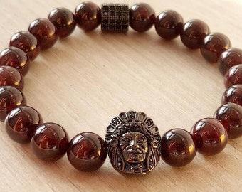 Geronimo Garnet bracelet