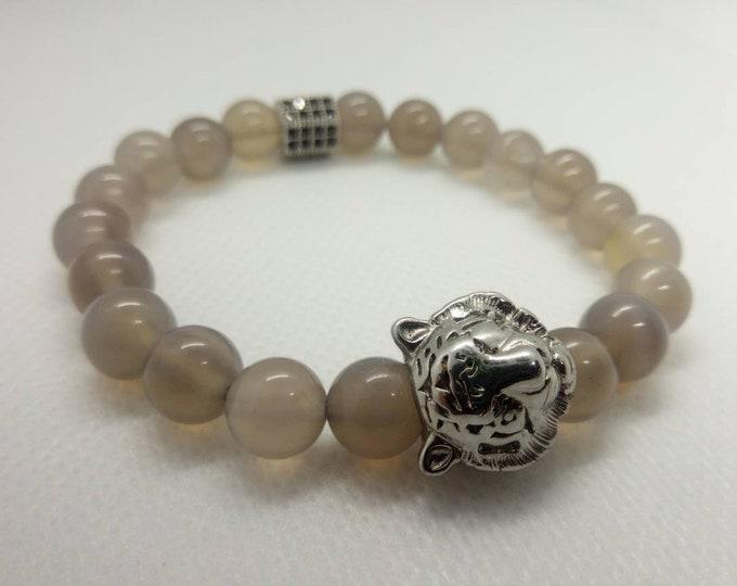 Smoked Quartz bracelet