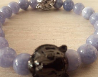 Sublime Shere khan in Angelite Bracelet