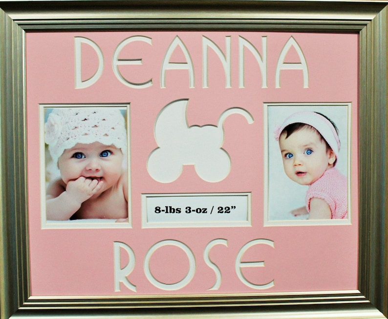 PERSONALIZED PHOTO FRAME Baby Girl