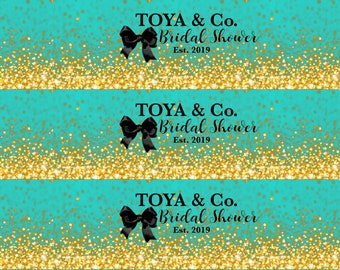 94368f5873 Tiffany and Co. Inspired Water Bottle Labels