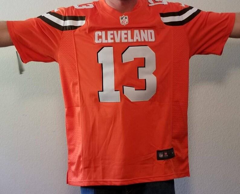 sale retailer d1870 3a898 Odell Beckham Jr Cleveland browns jersey