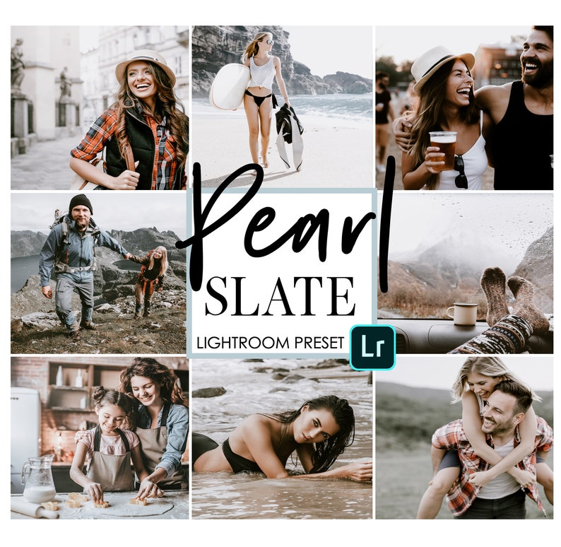3 PRESET PACK Pearl Slate Pack for Lightroom Mobile by Adobe - Use the free  Adobe lightroom App for iphone or Android - Lighroom CC Presets