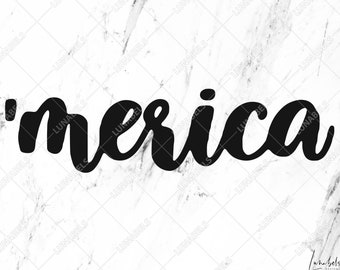 Merica SVG file, Merica clipart, Merica svg, 4th of July svg, Fourth of July, Independence day, Memorial day, USA Patriotic, Patriotic svg
