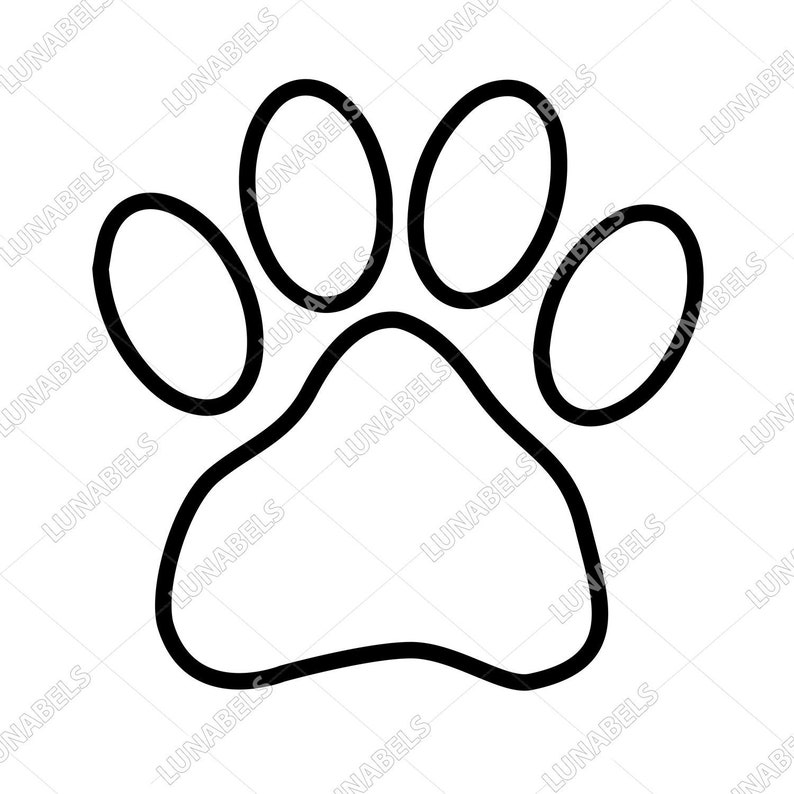 Paw clipart, Paw outline, Paw print svg, Paw clipart, Dog paw, Dog paw  print, Animal paws, Cat paw print, Dog foorprint, Paw ink, Pet, Paws