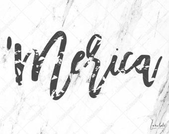 Merica SVG, Merica clipart, Merica distressed svg, 4th of July svg, Fourth of July, Independence day, Memorial day, USA Patriotic, Patriotic
