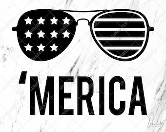 Merica svg, Merica Distressed Font, Merica Clipart, 4th of July svg, Fourth of July, Independence day, Memorial day, USA Patriotic