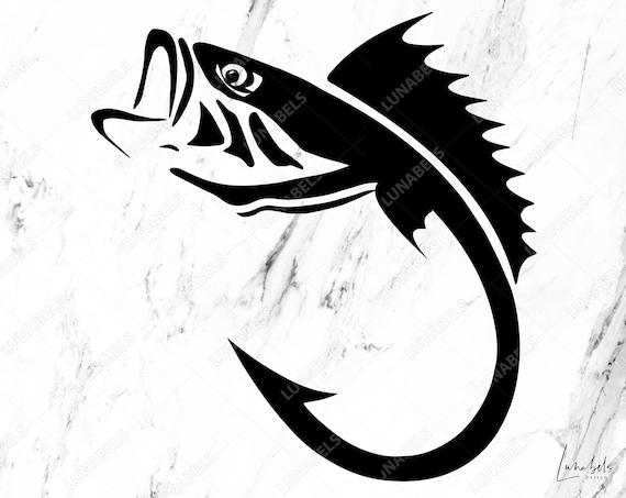 Download Fish Hook Svg Fishing Svg Fishing Clipart Fish Hook Svg Etsy