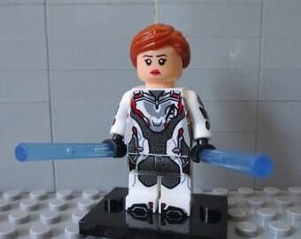 BLACK WIDOW 2020 Taskmaster Crimson Dynamo Red Marvel Thor lego MOC Minifigure