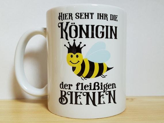 Danke Sagen Geschenk Königin Fleißige Biene Tasse