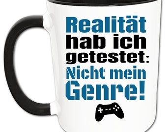 Zocker Cup, Gaming Cup, Nerd Cup, Gamer Gift, Men Gifts, Computer Games Video Games PC Console Controller Coffee Cup