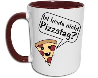 Sweet Pizza Mug, Pizza Day Saying Funny, Pizza Gift Coffee Mug, Kawaii Motif Mug, Gamer Gift