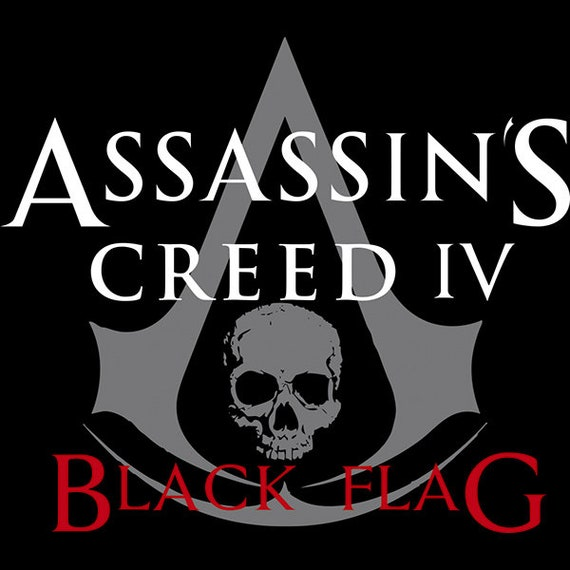 Assassin S Creed Iv Black Flag Logo Cross Stitch Pattern 2 Etsy