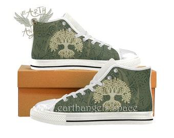 fd5ecd2e1dd7 TREE OF LIFE High Top Sneakers Women